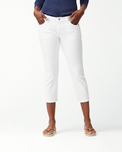 Ana Twill Cropped Jeans