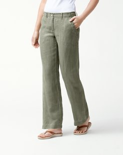 Sea Glass Linen Pants
