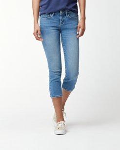 Tema Indigo Cropped Jeans