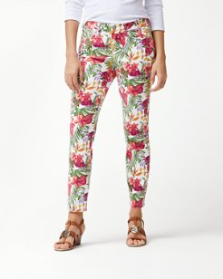 Marabella Blooms Ankle Jeans