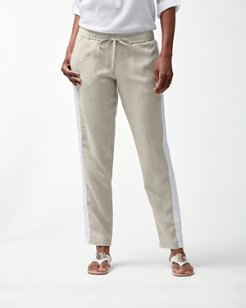 Two Palms Tux Stripe Linen Pants