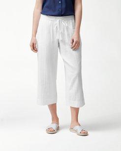 Playa Gauze Easy Cropped Pants