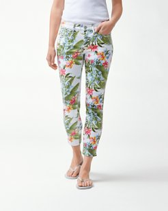 Madeira Blooms Ankle Jeans
