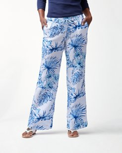 Tulum Tropical Linen Easy Pants