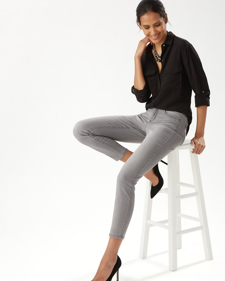 Main Image for Tema High-Rise Skinny Ankle Jeans