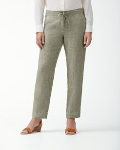 Palmbray Tapered Linen Pants