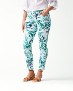 Mo'orea Monstera Ankle Jeans