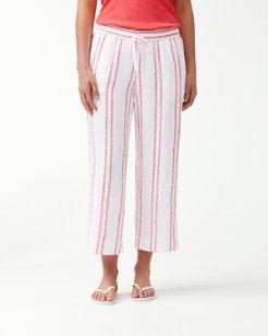 Marcella Stripe Linen Culottes