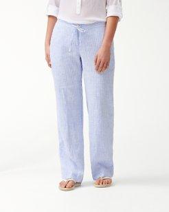 Crystalline Waters Linen Pants