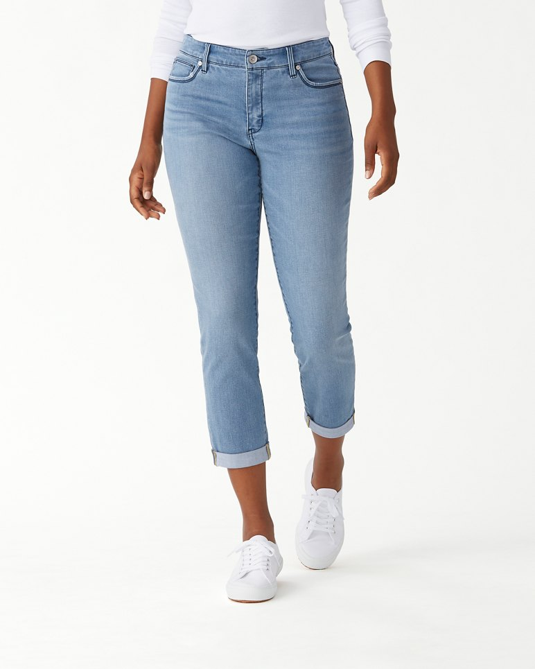 Main Image for Isla Indigo High-Rise Slim Boyfriend Jeans