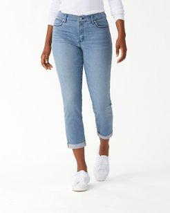 Isla Indigo High-Rise Slim Boyfriend Jeans