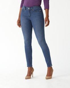 Isla Indigo High-Rise Skinny Jeans