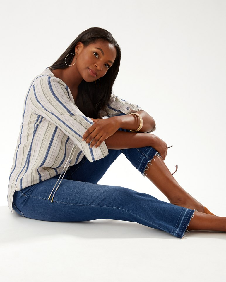 Main Image for Tema Indigo High-Rise Demi Bootcut Jeans