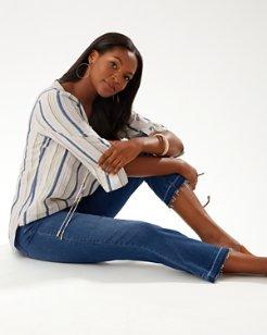 Tema Indigo High-Rise Demi Bootcut Jeans