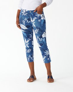 Basta Blossoms Cropped Jeans