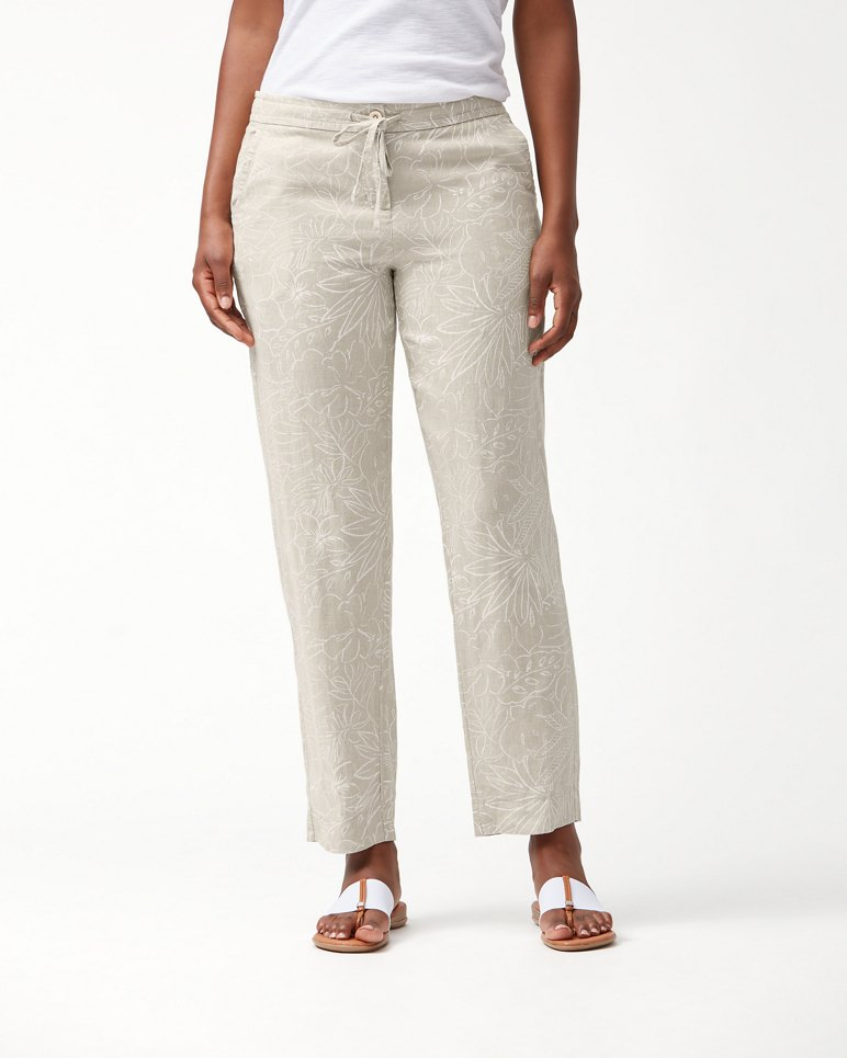 Main Image for Ombra Blossoms Linen Pants