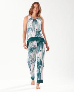 Sunset Palm Pajama Set