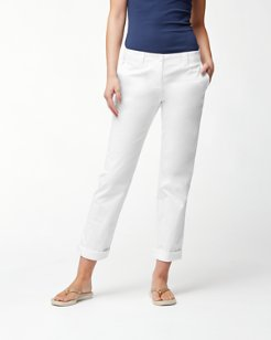 Sail Away Twill Boyfriend Pants