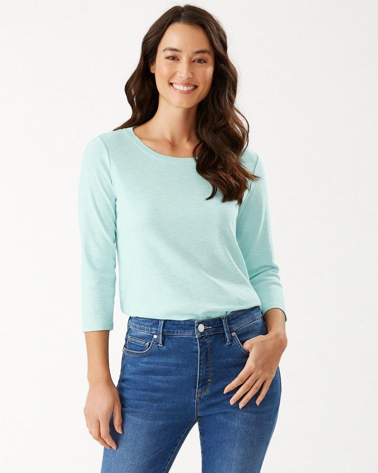 Main Image for Ashby Rib ¾-Sleeve T-Shirt
