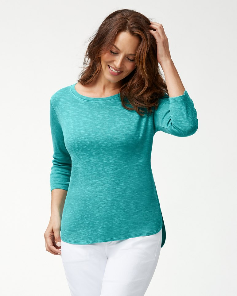 Main Image for Ashby Rib ¾-Sleeve T-Shirt