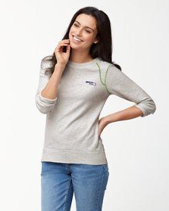 NFL Slub And Run Pullover Sweatshirt