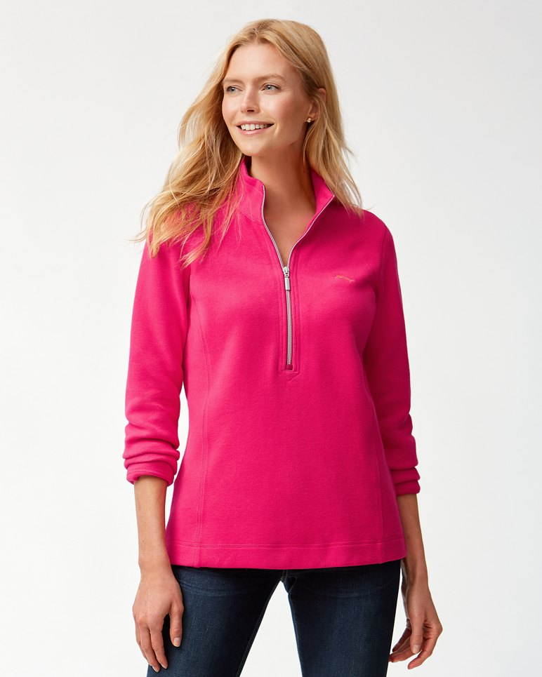 Main Image for Aruba Half-Zip Sweatshirt