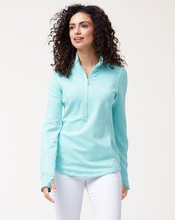 Jen & Terry Half-Zip Sweatshirt