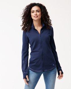 Jen & Terry Full-Zip Sweatshirt