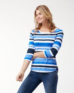 Ashby Innercoastal Stripe T-Shirt