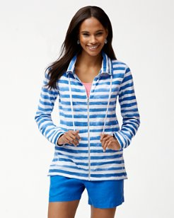 Knoll Bellarossa Stripe Full-Zip Jacket