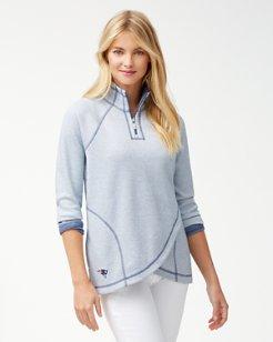NFL Onside Reversible Half-Zip Sweatshirt
