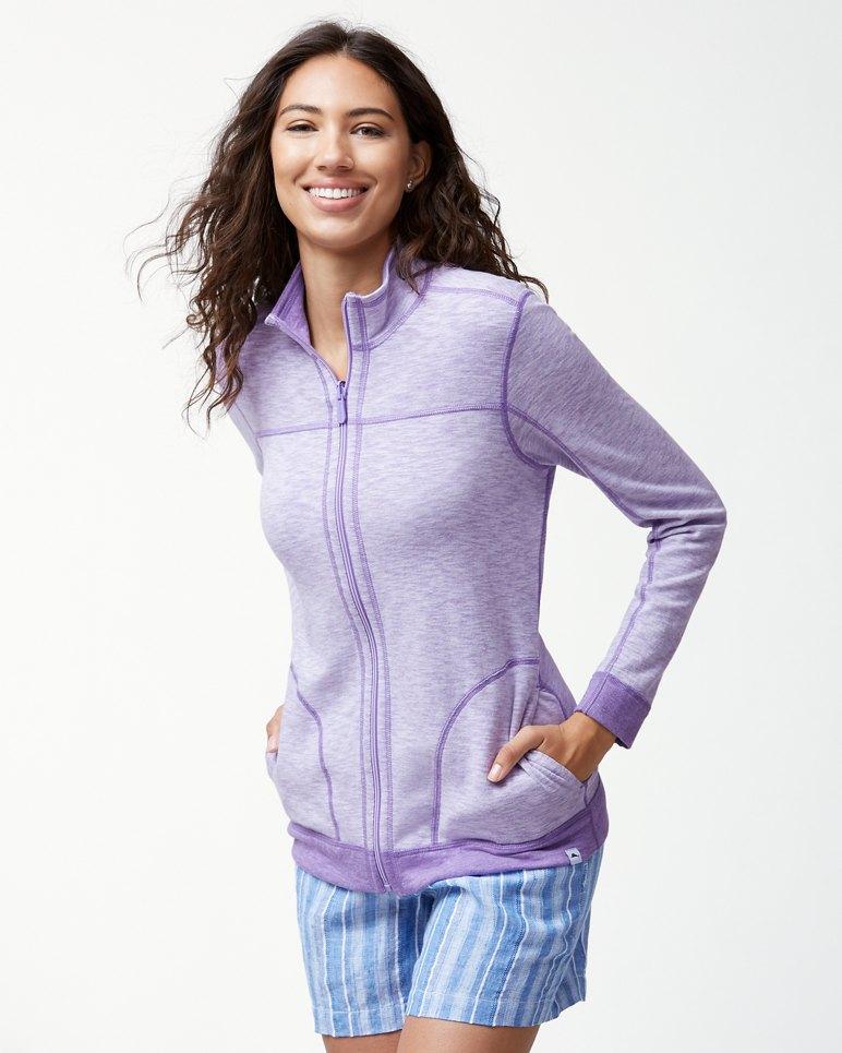 Main Image for Sea Glass Reversible Full-Zip Sweatshirt