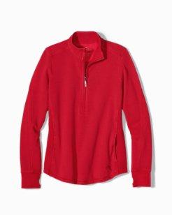 Jen & Terry Core Half-Zip Sweatshirt