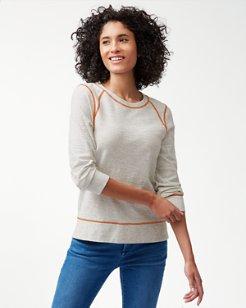Seashore Slub Pullover Sweatshirt