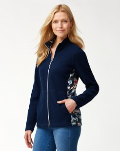 Aruba Lorena Leis Full-Zip Sweatshirt