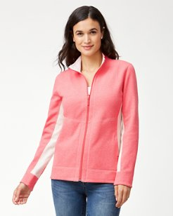 Flip Side Reversible Full-Zip Sweatshirt