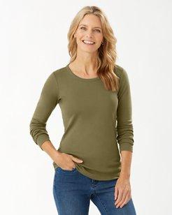 Indio Long-Sleeve Crewneck T-Shirt