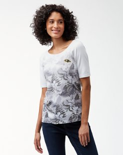 NFL Floral Victory T-Shirt
