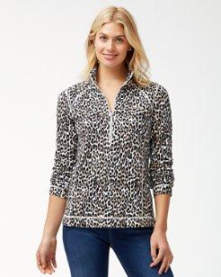 Aruba Cat's Meow Half-Zip Sweatshirt
