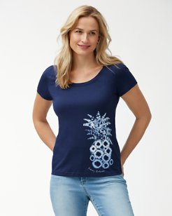 Shibori Pineapple T-Shirt