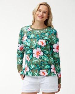 Jen & Terry Flora Bora Sweatshirt