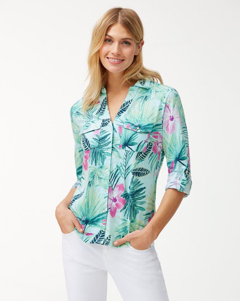 Main Image for Kayo Blossoms Knit Shirt