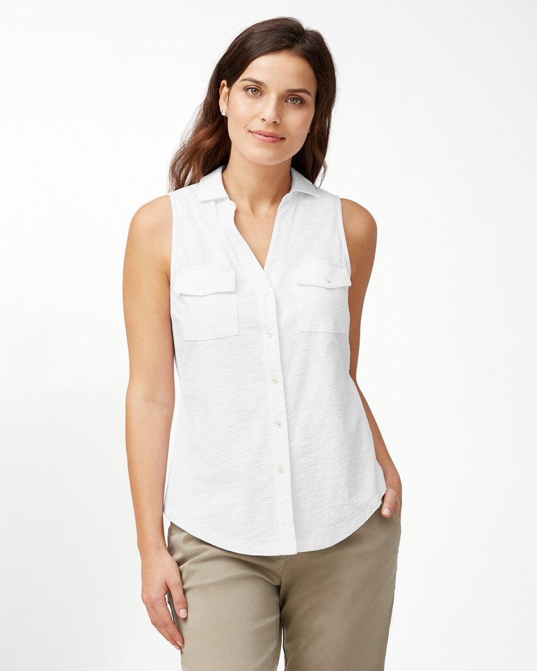 Main Image for Arden Sleeveless Knit Shirt