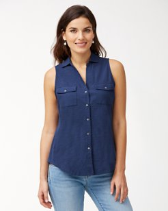 Arden Sleeveless Knit Shirt