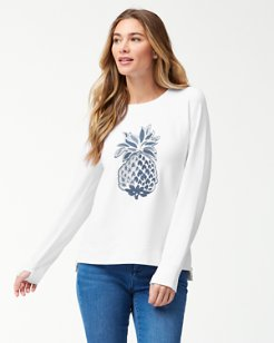 Jen & Terry Pineapple Sweatshirt