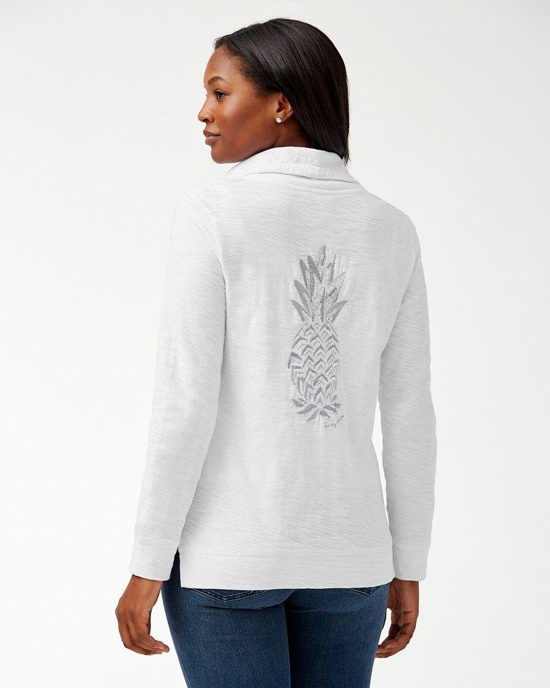 Main Image for Piña Coolita Embellished Full-Zip Sweatshirt