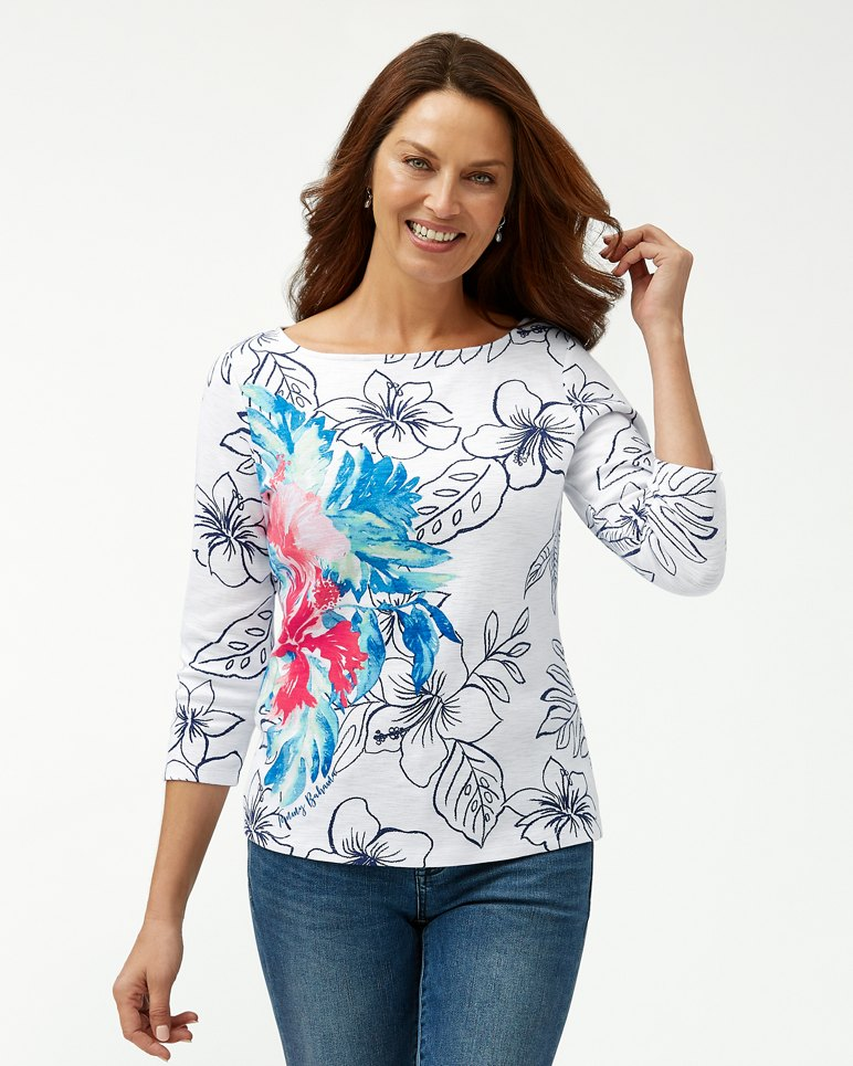 Main Image for Cascata Fiore Ashby 3/4-Sleeve T-Shirt