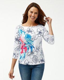 Cascata Fiore Ashby 3/4-Sleeve T-Shirt