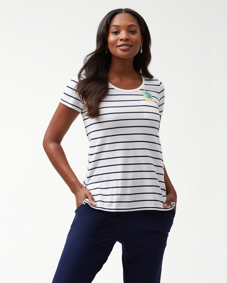 Main Image for One Wave Or Another Embroidered T-Shirt