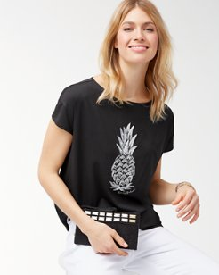 Piña-Coolita Embellished T-Shirt